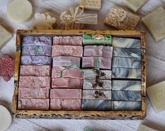 10 Random Soap Pack (discounted soap, soap sale, soap box)