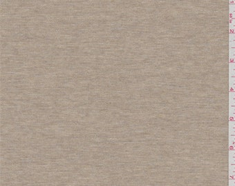 Sandy Brown Jersey Knit, Fabric By The Yard