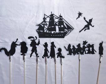 Peter Pan Shadow Puppets