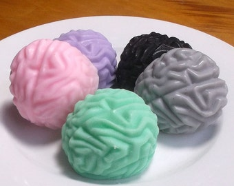 Brain Soap - Medical School Gift, Doctor Gift, Nurse Gift, Graduation Gift - Set of 4