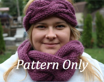 Braided Cowl **PATTERN ONLY**