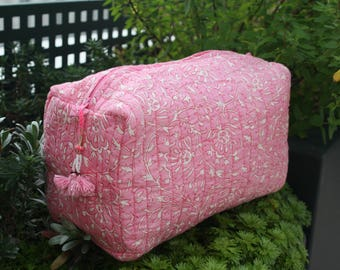 Large pouch, pink