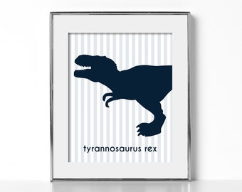 Dinosaur Wall Decor Kids Room Ideas Best Selling Shops Dinosaur Print Digital Download Printable Art Navy Blue Kids Room Navy Blue Wall Art