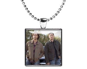 Sam Winchester Supernatural Necklace Pendant Jared Padalecki Fandom Jewelry Cosplay Fangirl Fanboy