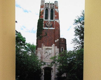 MSU Beaumont Clock Tower 18x12 Canvas Wrap