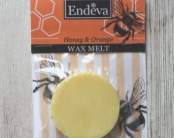 Honey & Orange Wax Melt