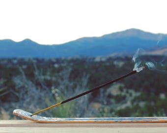 Hand-Painted Incense Burner