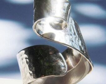 Adagio sterling silver ring.