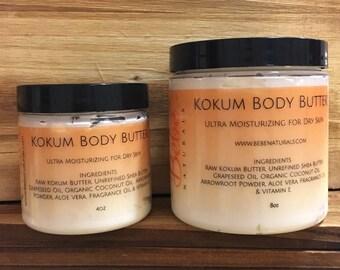 Organic, All Natural Kokum Body Butter