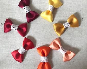 Barrette Satin & lace tones hot for little girls