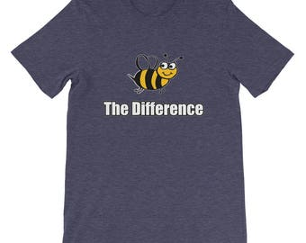 Be the Difference - Empowering T-Shirt; make a difference; anti-bully t shirt; motivational t shirt; change the world for the better tee