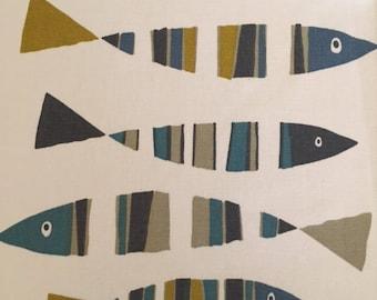 Fish Fabric Lampshade