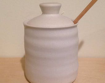 Honey Pot - Alabaster White - Wavy  Belly - MADE TO ORDER