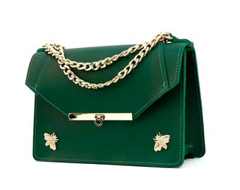 Gavi Shoulder Bag in Green