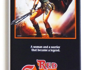 Red Sonja Movie Poster Fridge Magnet (1.5 x 4.5 inches)