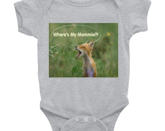 Baby Fox Tees For New Born to 24 months