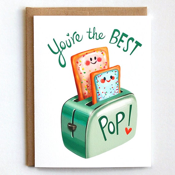Fathers day card dad birthday card card for dad father like this item bookmarktalkfo Images