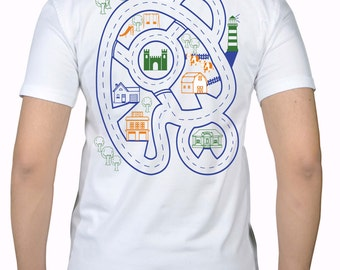 LARGE - Fathers Day Gift For Dad, Dad & Son Play-Mat T-shirt Back Massager Dadsvillie New Dad Tshirt Birthday Party Present Fathers Day