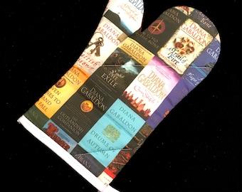 Diana Gabaldon Books-inspired Oven Mitt