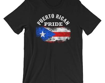 Patriotic Flag T-Shirt | Puerto Rico Flag, Puerto Rican Shirt, Puerto Rico Shirt, Puerto Rican Pride, Puerto Rico Tee