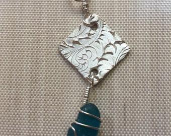 Beachglass Necklace #118
