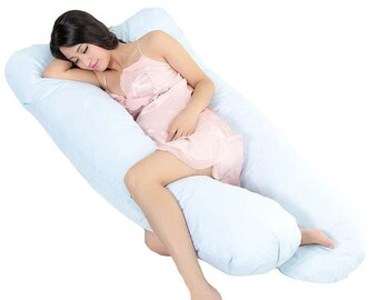 Pregnancy pillow for side sleeper