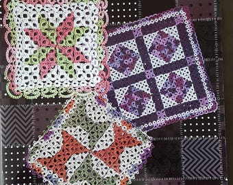 Tatted-Quilt-Squares Instruction Book - 2014