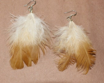 FEATHER Earrings -- Bird, Native American, Southwest - Style 24
