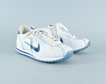Retro 90's Style Nike White Laced Trainers Sneakers Women's UK 5 EU 38.5 US 7.5