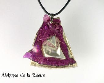 Eco-friendly recycled CD DVD necklace