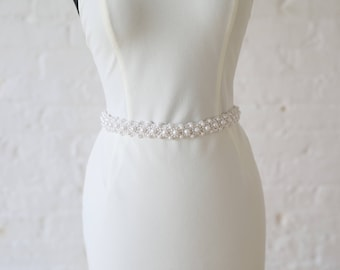 "Jaxie ""Ash"" Bridal Belt"