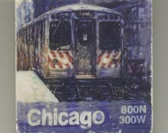 CTA L train to the loop - Original Coaster