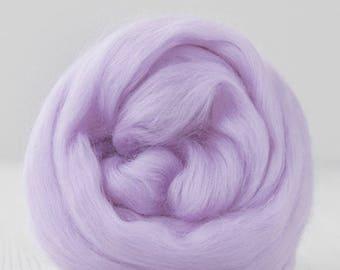 Superfine Merino Wool Top - 19 micron - Twilight - 4 ounces