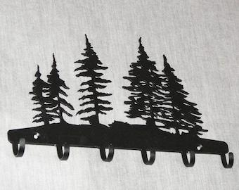 Pine Trees Key Hook