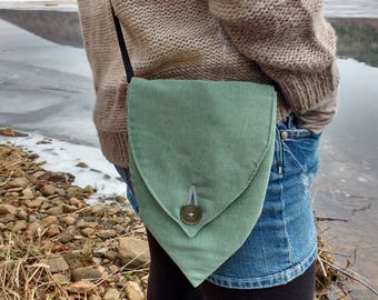 Teal Blue Shoulder Purse
