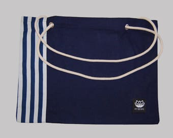 Great bag Navy and rope