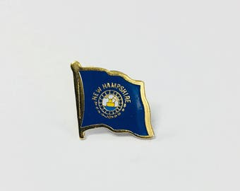 New Hampshire State Flag Pin