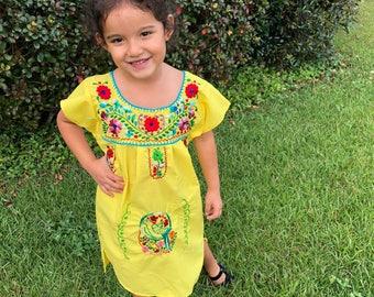 4T little girls Mexican Dress