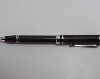 pen, ballpoint, wenge, chrome