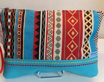 Nininanane're Peru TURQUOISE unique clutch