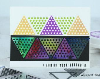 Geometric Card - I Admire your strength