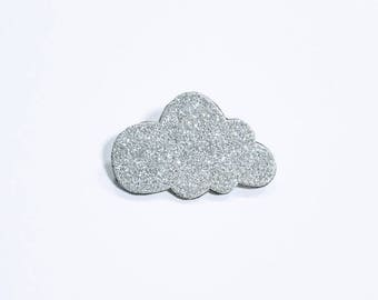 "This brooch ""Silver"""