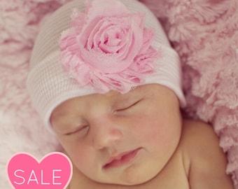 baby girl - NEWBORN GIRL newborn hospital hat, newborn hat, newborn hats