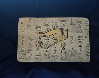 Hieroglyph Medjay Trinket Box