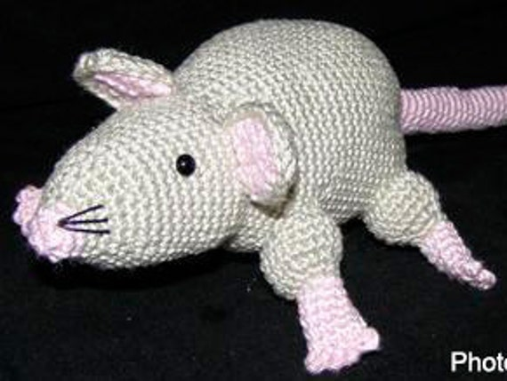 Amigurumi Rat : Mouse bookmark amigurumi world of amigurumi youtube