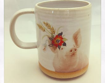 Talk to the Animals- Limited Edition Pig Mug
