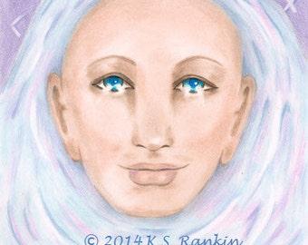 "Celtic Healer beautiful 8X10"" Giclee print"
