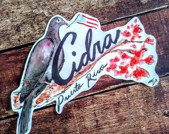 Sticker Cidra Puerto Rico