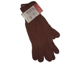 Soviet Divers gloves made of camel wool