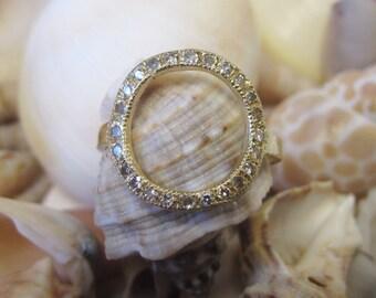 14K Gold Diamond Fashion Ring 6J7955